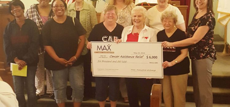 MAX Provides Grant to Help Purchase New Cancer Assistance Relief (CAR) Van
