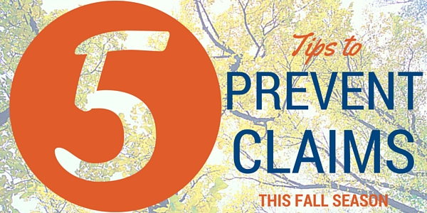 Preventing Claims this Fall