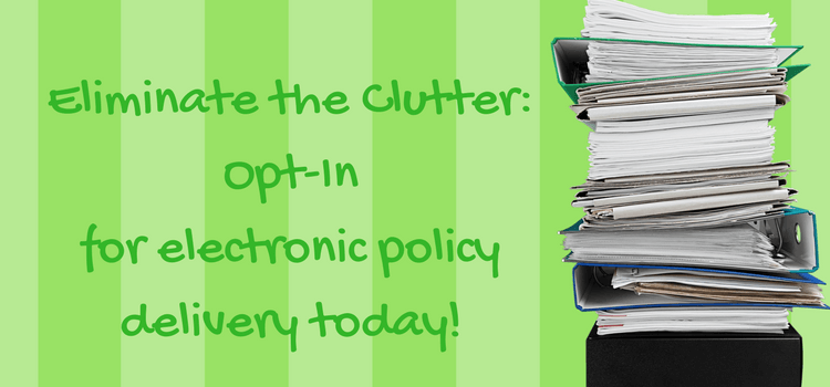 Why Should You Choose to Receive Your Insurance Policy Documents Electronically?