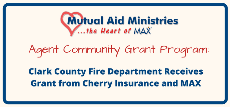 Clark County Fire Department Receives Grant from Cherry Insurance and MAX Insurance