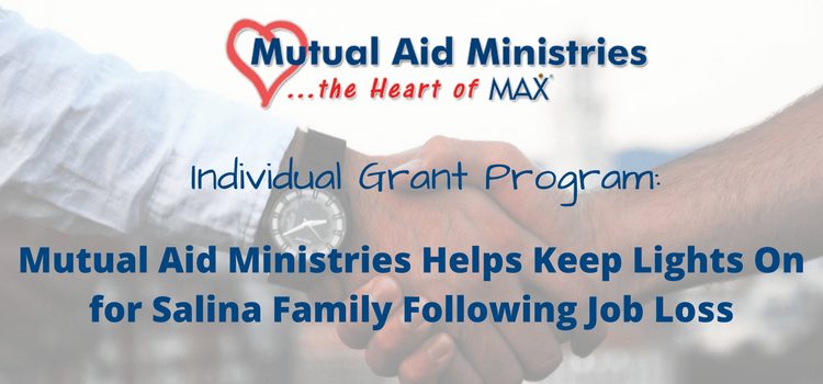 Individual Grant Mutual Aid Ministries