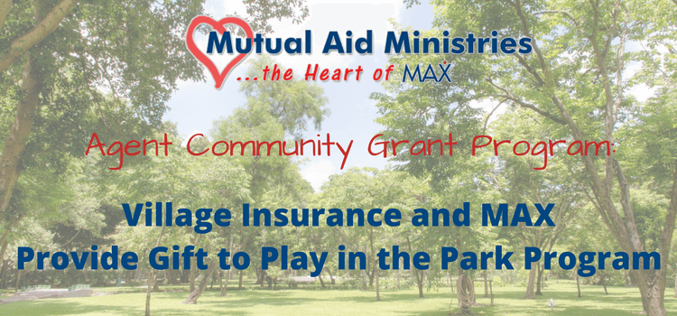 Village Insurance and MAX Insurance Provide Gift to Play in the Park Program