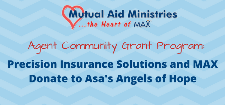 Precision Insurance Solutions and MAX Insurance<sup>®</sup> Donate to Asa's Angels of Hope