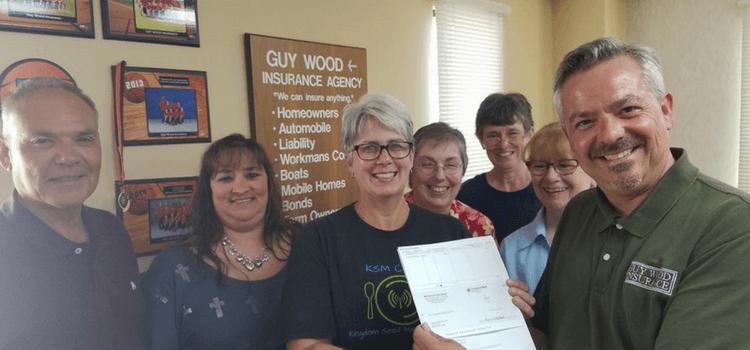 Guy Wood Insurance and MAX Insurance donate to HAPPY FEET Program