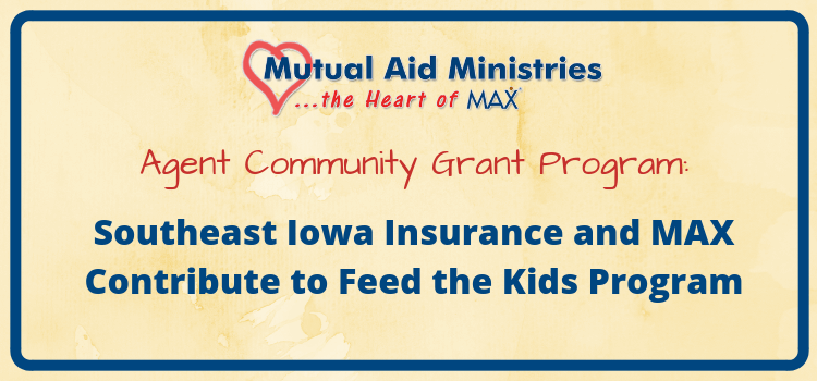 Feed the Kids Mutual Aid Ministries Grant Header