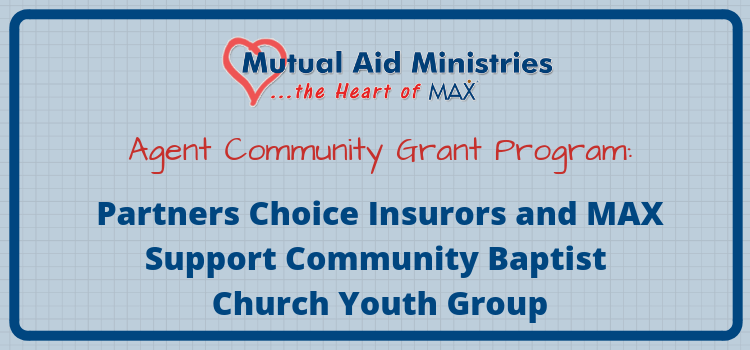 Partners Choice Mutual Aid Ministries Grant Header