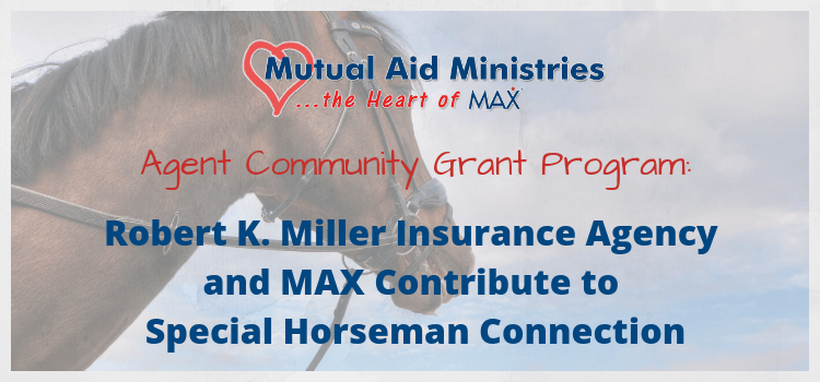 Special Horseman Connection Mutual Aid Ministries Grant Graphic