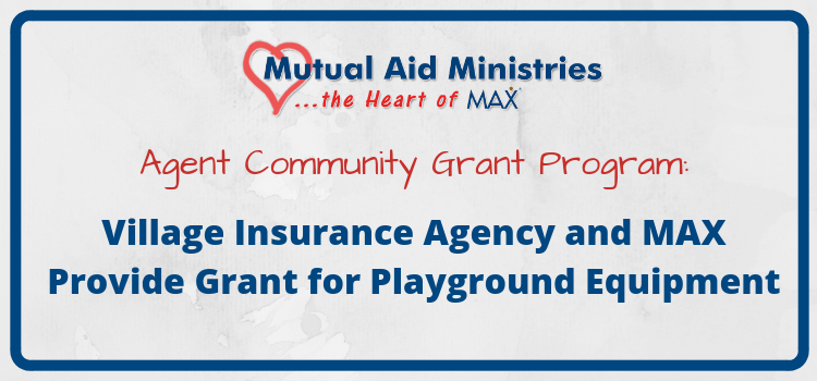 Village Playground Mutual Aid Ministries Grant Header