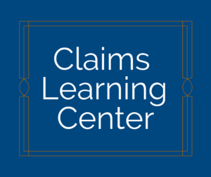 Claims Learning Center Graphic