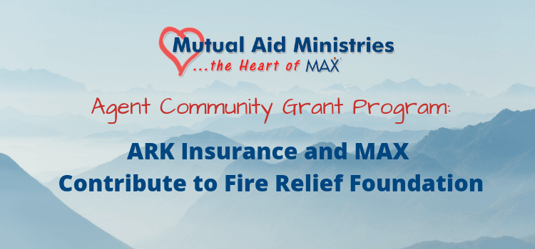 Fire Relief Foundation Grant Header
