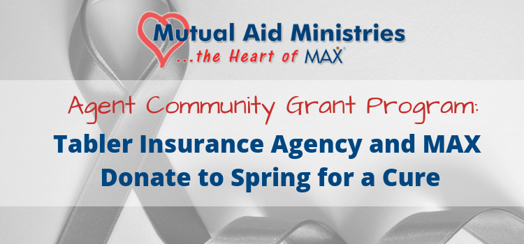 Tabler Insurance Mutual Aid Ministries Grant Graphic