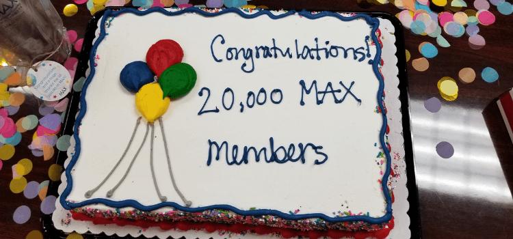 20,000 members celebration