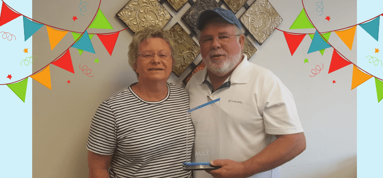Simmons Agency Receives MAX Community Service Award