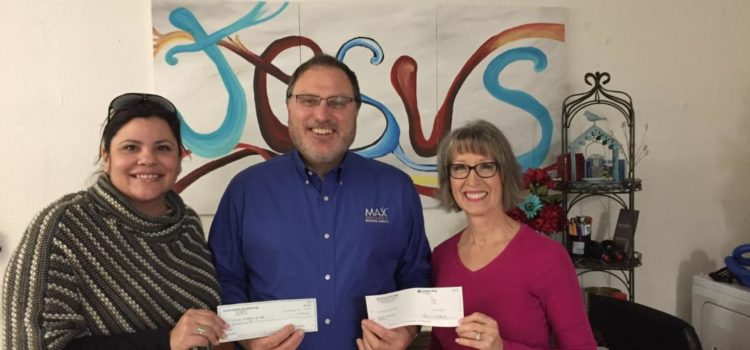 Troyer-Weaver Insurance Agency and MAX Insurance®  provide Matching Grants to Women's Outreach of Hope