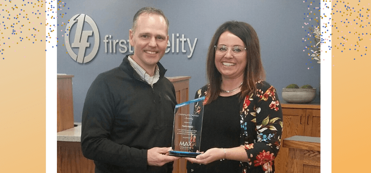 Fidelity Agency Community Service Award